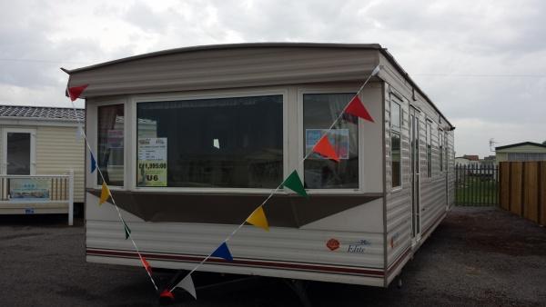 Elegant Static Caravan Lodge Twin Unit For Sale Skegness East Coast